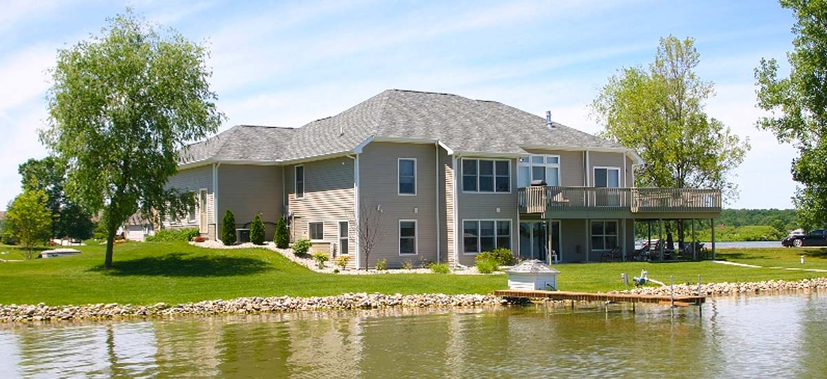 Lakefront Homes